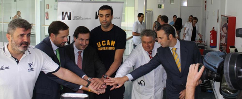 UCAM CB Murcia y Hospital Mesa del Castillo se dan la mano