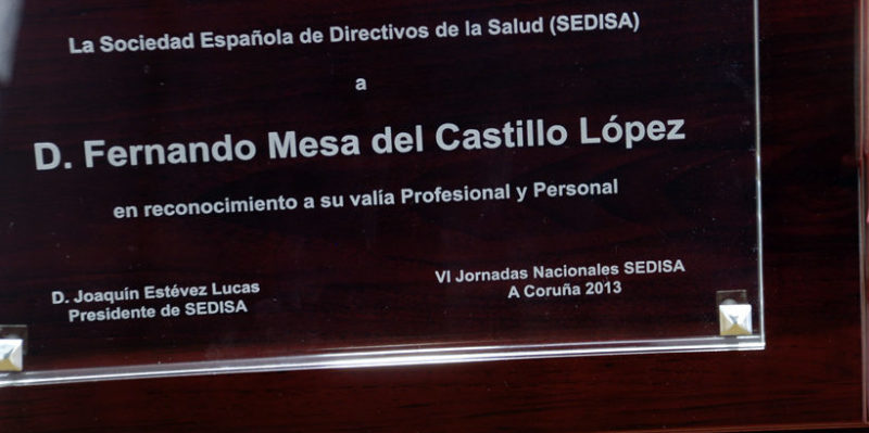 Homenaje a Fernando Mesa del Castillo