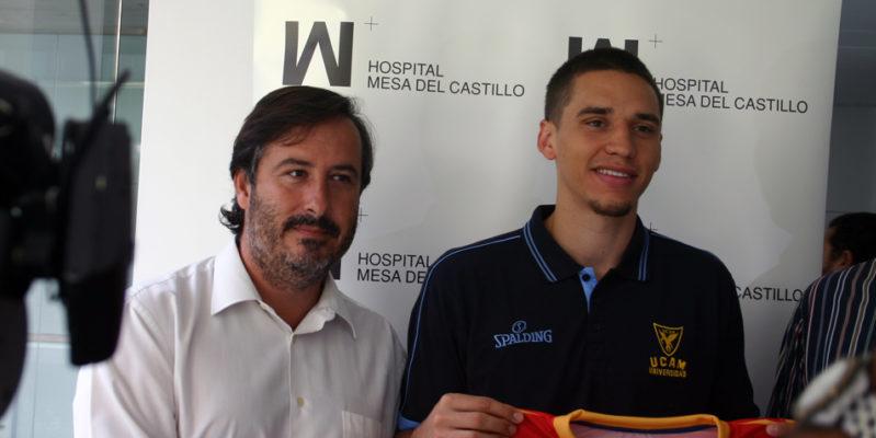 Renovamos patrocinio con el UCAM CB Murcia