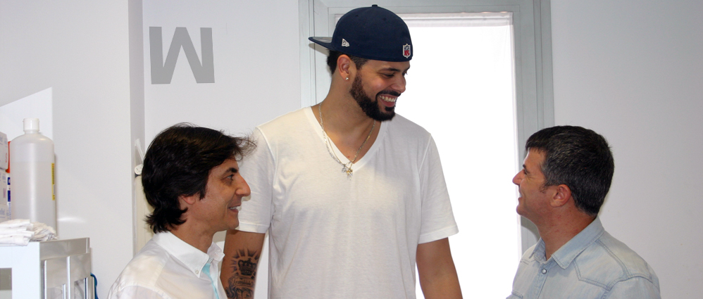 Faverani, de la NBA, será operado por el Dr. Matínez