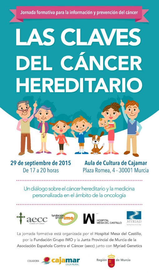Jornada formativa sobre el cáncer hereditario