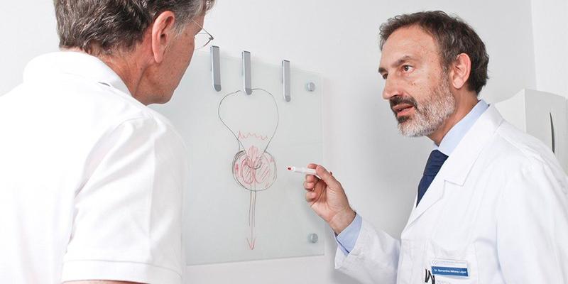 El láser del holmio evita la cirugía abierta de próstata