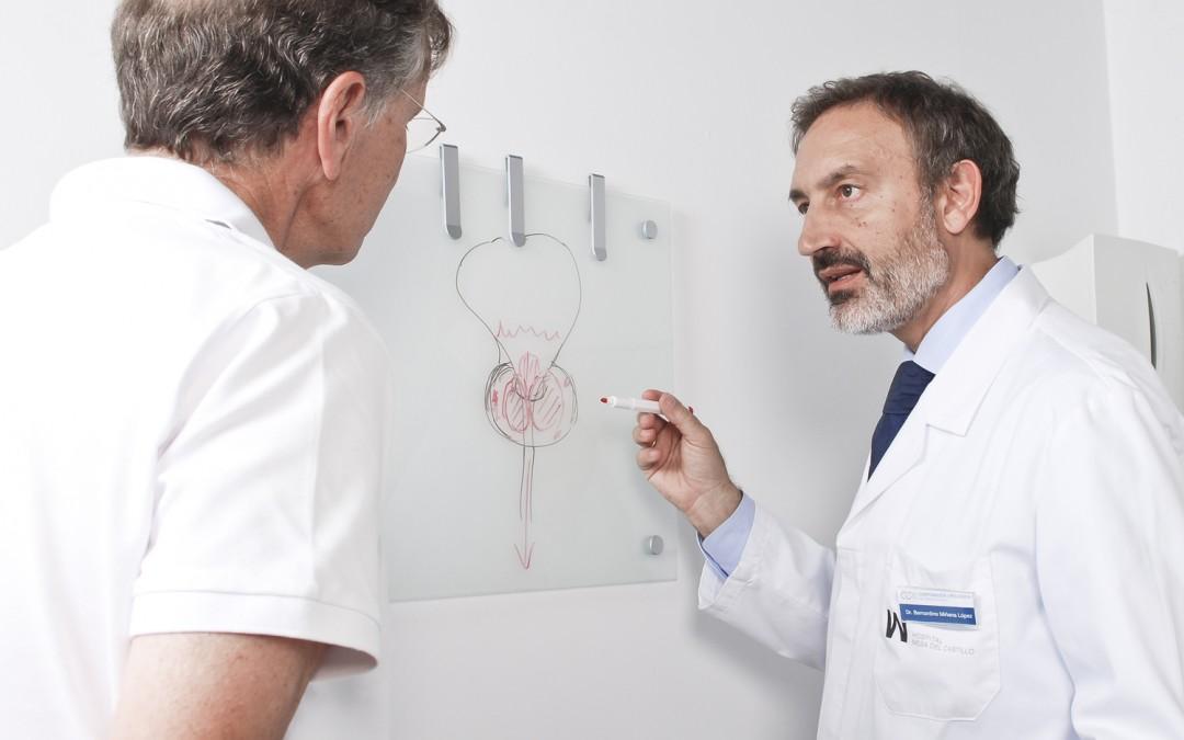 donde operar en la próstata con el láser verde de