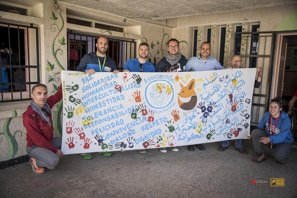 Fans de Marruecos y las aventuras solidarias
