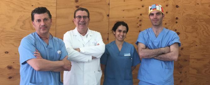 Tiempo récord en recuperación por implante de rodilla