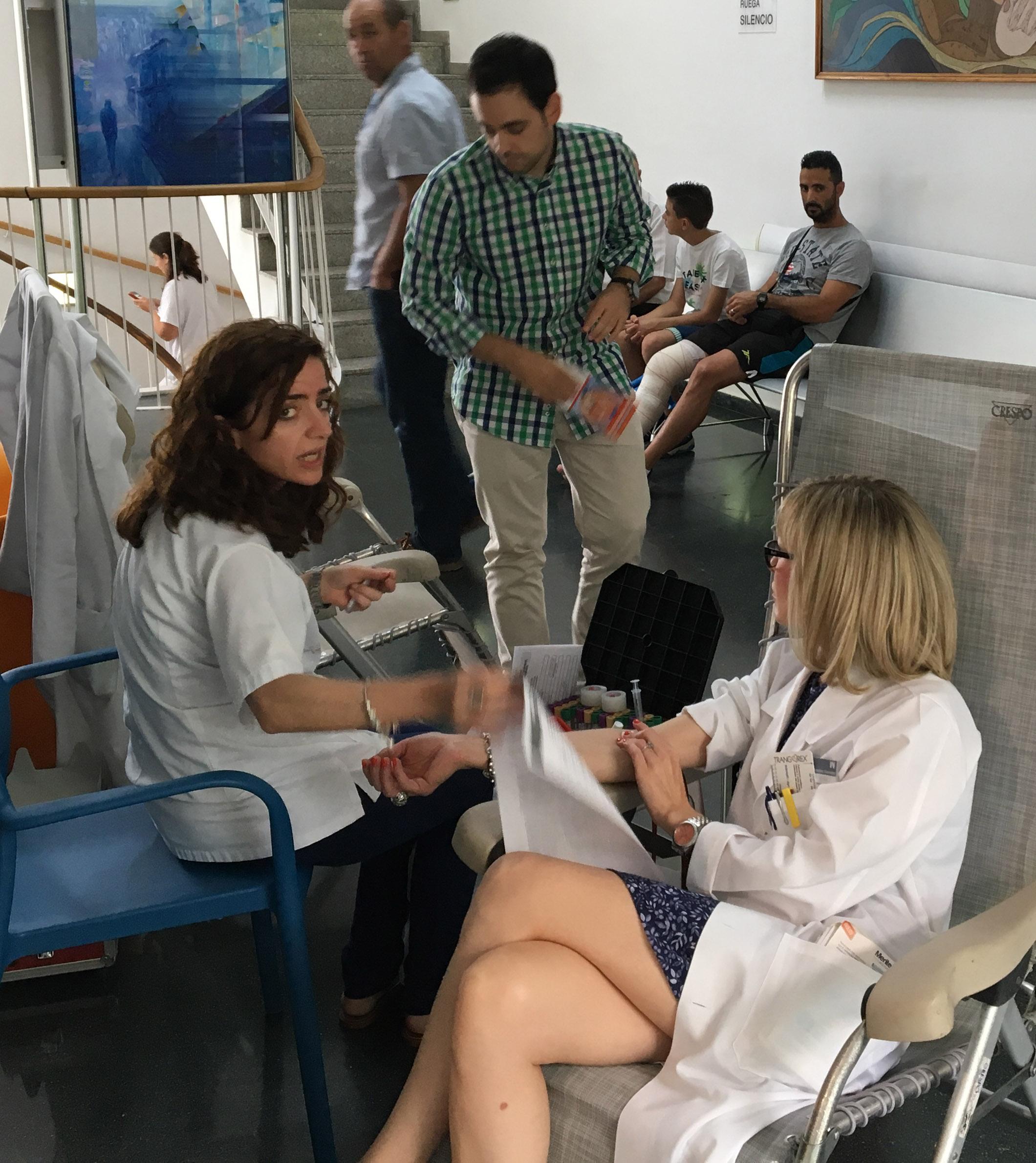 Jornada de donación de sangre