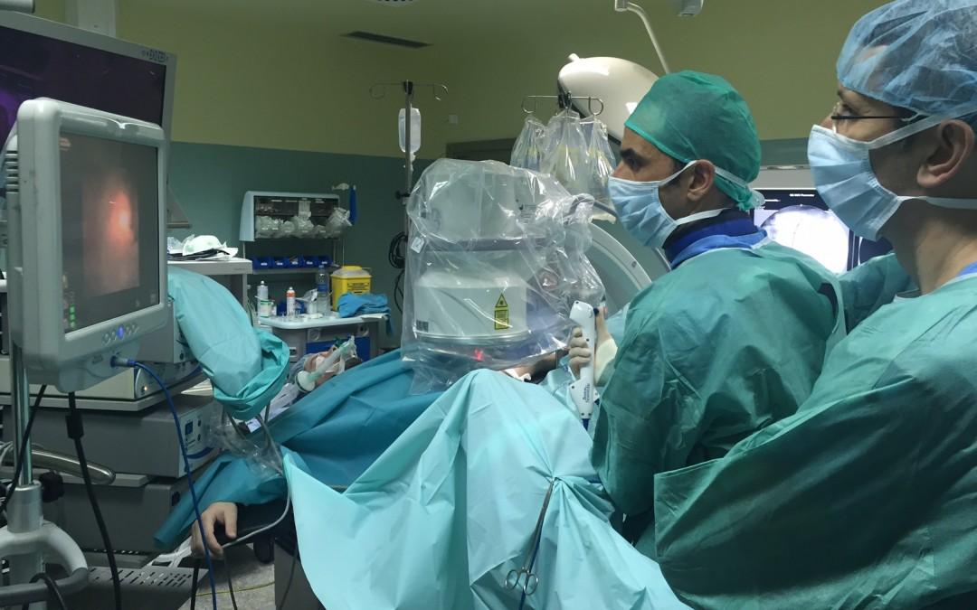 El Dr. Cao presenta urología de vanguardia en Turín