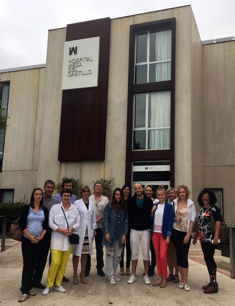 Recibimos a periodistas rusos para difundir turismo de salud