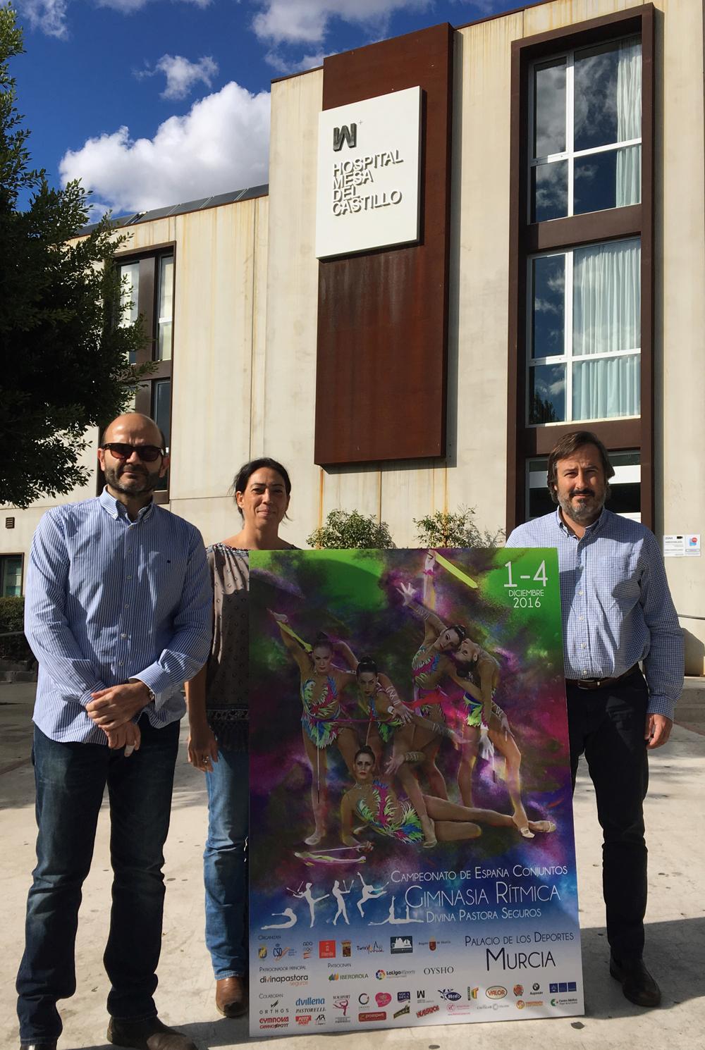 Somos hospital de referencia para el Campeonato de España de Gimnasia Rítmica