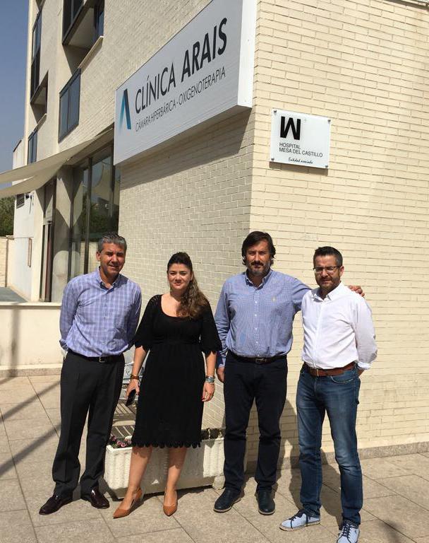 Acuerdo de colaboración con Fundación Arais