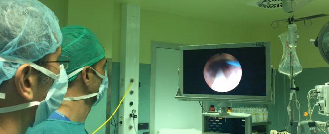 Terapias mínimamente invasivas para cálculos renales