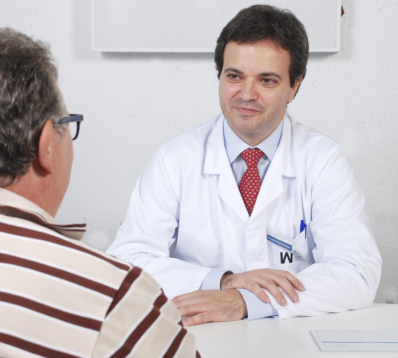 áreas específicas para la biopsia de próstatas