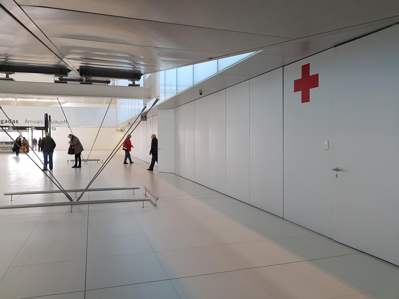 A la salud del nuevo aeropuerto