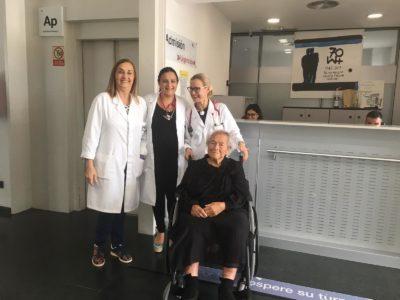 El Hospital Mesa del Castillo libera una planta para evacuados por las lluvias que necesiten atención especial
