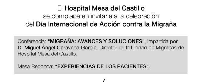Mesa del Castillo organiza una jornada sobre últimos avances en tratamiento de migraña