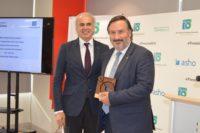 El Hospital Mesa del Castillo recibe el premio nacional BHS a la mejor gestión clínica global