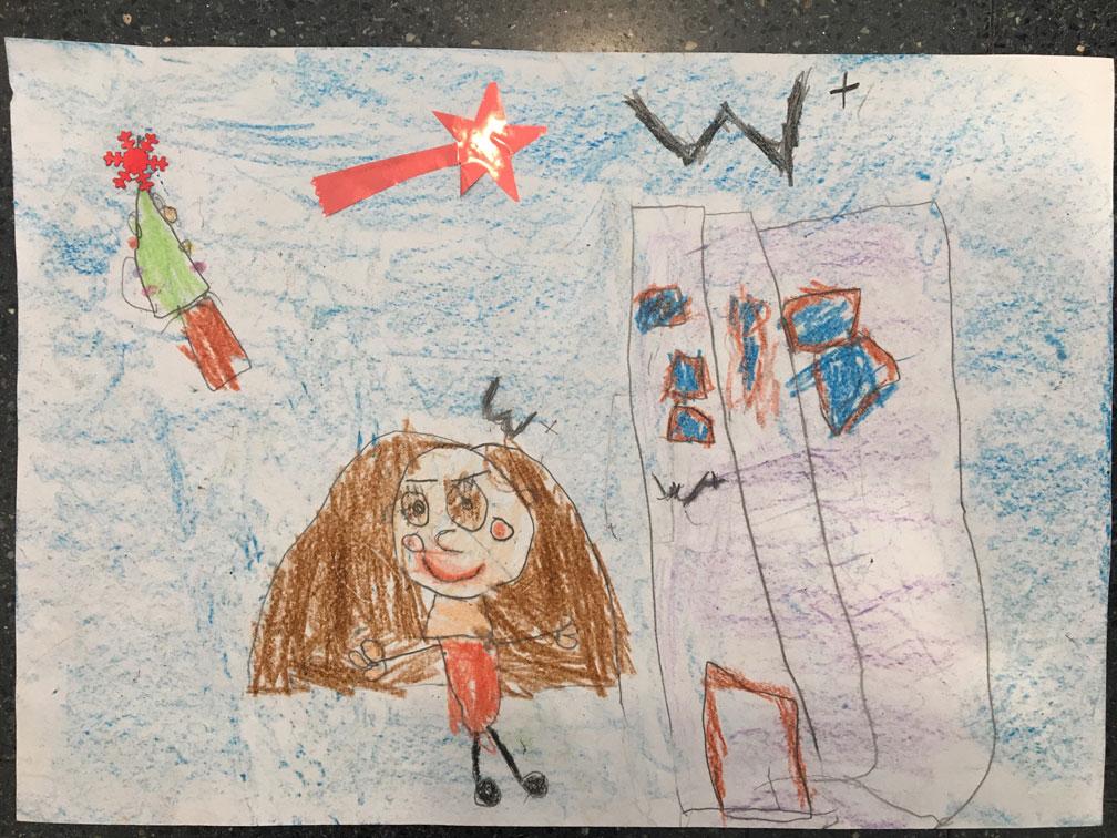 Los hijos de nuestro personal se inspiran en Navidad