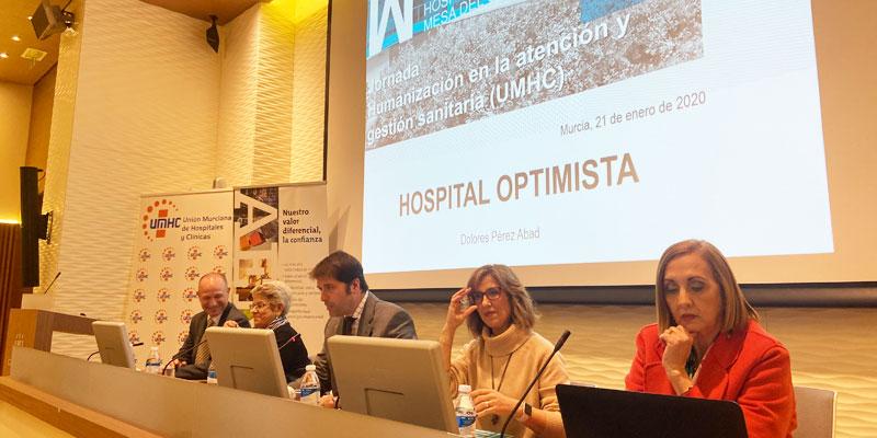 """Mesa del Castillo presenta su """"Hospital Optimista"""" en unas jornadas sobre humanización en la atención sanitaria"""