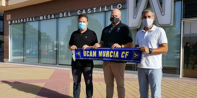 Análisis de sangre y pruebas COVID-19 para el UCAM Murcia C.F.