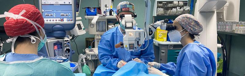 Zona quirúrgica y UCI, modernizadas